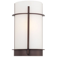 Minka-Lavery Signature 1 Light Sconce in Copper Bronze Patina 6460-647