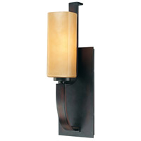 Kinston 1 Light 5 inch Aged Kinston Bronze Bath Wall Light