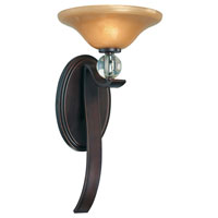 Minka-Lavery Grahmton 1 Light Sconce in Deep Lathan Bronze 6481-167B