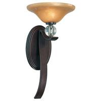 Minka-Lavery Grahmton 1 Light Sconce in Deep Lathan Bronze 6481-167B