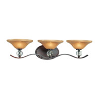 Minka-Lavery Grahmton 3 Light Bath in Deep Lathan Bronze 6483-167B