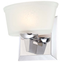 Tre Venti 1 Light 7 inch Chrome Bath Wall Light