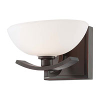 Minka-Lavery Galante 1 Light Bath in Lathan Bronze 6581-167