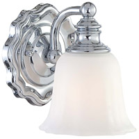 Minka-Lavery 6591-77 Felice 1 Light 6 inch Chrome Bath Wall Light photo thumbnail