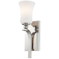 Minka-Lavery Ameswood 1 Light Sconce in Polished Nickel 6621-613