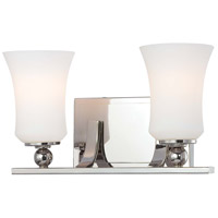 Minka-Lavery Ameswood 2 Light Bath in Polished Nickel 6622-613