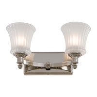 Minka-Lavery Hayvenhurst 2 Light Bath in Polished Nickel 6682-613