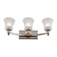 Minka-Lavery Hayvenhurst 3 Light Bath in Polished Nickel 6683-613