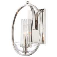 Minka-Lavery Urban Nouveau 1 Light Sconce in Polished Nickel 6690-613