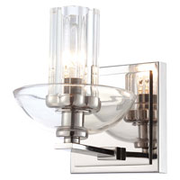 Minka-Lavery Urban Nouveau 1 Light Bath in Polished Nickel 6691-613