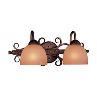 Minka-Lavery Caspian 2 Light Bath in Golden Bronze 6722-355