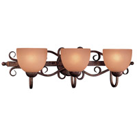 Minka-Lavery Caspian 3 Light Bath in Golden Bronze 6723-355