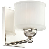 1730 Series 1 Light 6 inch Polished Nickel Bath Bar Wall Light