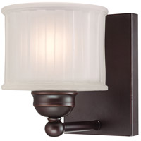 1730 Series 1 Light 6 inch Lathan Bronze Bath Bar Wall Light