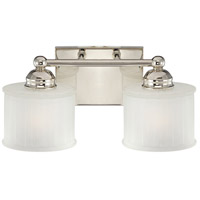 1730 Series 2 Light 15 inch Polished Nickel Bath Bar Wall Light