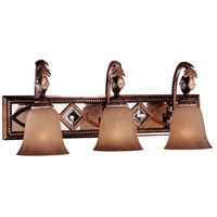 Aston Court 3 Light 26 inch Aston Court Bronze Bath Bar Wall Light