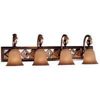 Aston Court 4 Light 34 inch Aston Court Bronze Bath Bar Wall Light