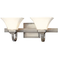 Agilis 2 Light 21 inch Brushed Nickel Bath Bar Wall Light