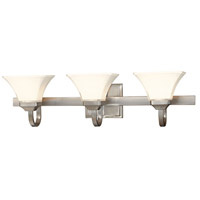 Agilis 3 Light 32 inch Brushed Nickel Bath Wall Light