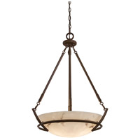 Minka-Lavery Calavera 3 Light Pendant in Nutmeg 682-14