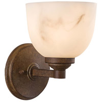 Minka-Lavery Calavera 1 Light Sconce in Nutmeg 6820-14
