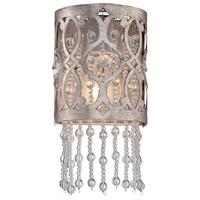 Minka-Lavery Lucero 1 Light Vanity Light in Florentine Silver 6841-276