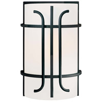 Minka-Lavery Iconic 1 Light Sconce in Black 6871-66