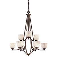 Minka-Lavery Calavera 9 Light Chandelier in Nutmeg 689-14