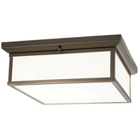 Minka-Lavery 6918-281-L Signature LED 16 inch Harvard Court Bronze Plated Flush Mount Ceiling Light