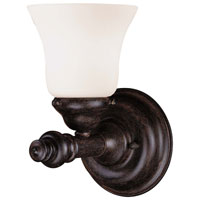 Signature 1 Light 5 inch Iron Oxide Bath Wall Light