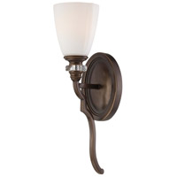 Minka-Lavery Thorndale 1 Light Wall Sconce in Dark Noble Bronze 6940-570