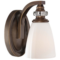 Minka-Lavery Thorndale 1 Light Bath in Dark Noble Bronze Finish 6941-570