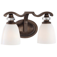 Minka-Lavery Thorndale 2 Light Bath in Dark Noble Bronze 6942-570