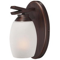 Minka-Lavery City Club 1 Light Bath in Dark Brushed Bronze 6951-267B