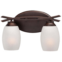 Minka-Lavery City Club 2 Light Bath in Dark Brushed Bronze  6952-267B