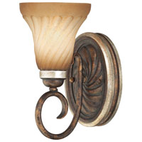 Marsoni 1 Light 6 inch Distressed Marsoni Bronze Sconce Wall Light