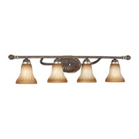 Minka-Lavery Marsoni 4 Light Bath in Distressed Marsoni Bronze 6984-565