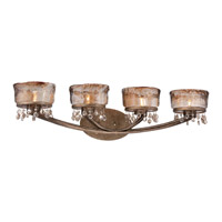 Minka-Lavery La Bohem 4 Light Vanity Light in Monarch Bronze 6994-271