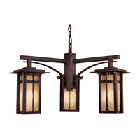 The Great Outdoors by Minka Delancy 3 Light Outdoor Lighting in Iron Oxide 71100-A357-PL