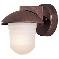Minka-Lavery 71153-91-PL Danbury 1 Light 7 inch Antique Bronze Outdoor Wall Mount, Twist and Lock photo thumbnail