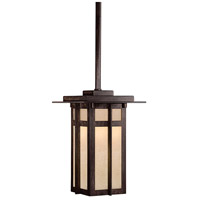 Delancy 1 Light 6 inch Iron Oxide Outdoor Pendant