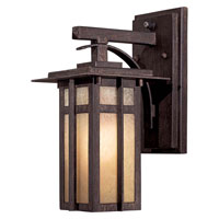 The Great Outdoors by Minka Delancy 1 Light Wall Lamp in Iron Oxide 71191-A357-PL
