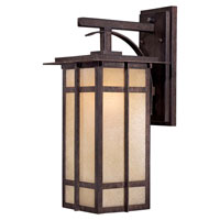 The Great Outdoors by Minka Delancy 1 Light Wall Lamp in Iron Oxide 71192-A357-PL