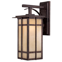 Delancy 1 Light 18 inch Iron Oxide Outdoor Wall Mount