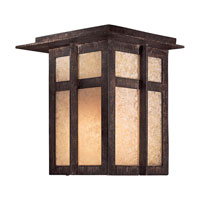 The Great Outdoors by Minka Delancy 1 Light Outdoor Pocket Lantern in Iron Oxide 71197-A357-PL