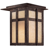 Delancy 1 Light 8 inch Iron Oxide Outdoor Pocket Lantern