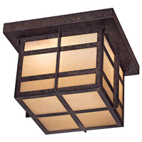 The Great Outdoors by Minka Delancy 2 Light Flushmount in Iron Oxide 71199-A357-PL
