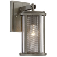 Radian 1 Light 13 inch Painted Brushed Nickel Outdoor Wall Lantern, The Great Outdoors