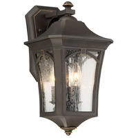 Minka-Lavery 71212-143C Solida 3 Light 16 inch Oil Rubbed Bronze/Gold Outdoor Wall Mount The Great Outdoors