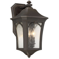 Minka-Lavery 71213-143C Solida 3 Light 20 inch Oil Rubbed Bronze/Gold Outdoor Wall Mount The Great Outdoors
